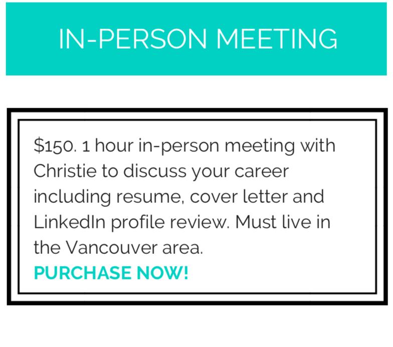 Career Advice Meeting - Style Nine to Five