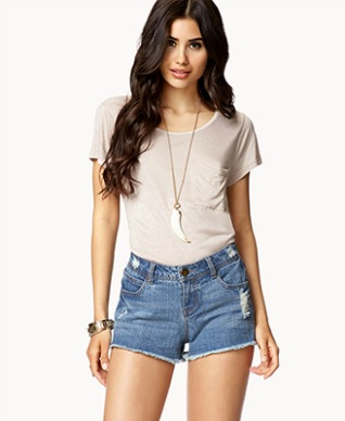a74a32cf4067 American Eagle shorts H M short shorts Forever 21 Destroyed Denim ...