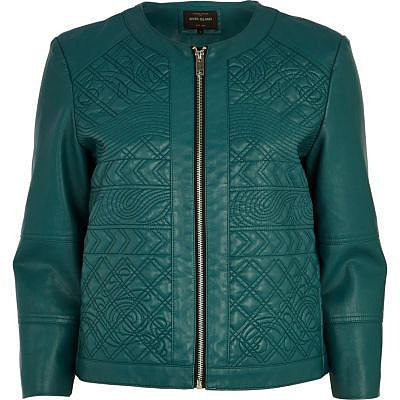 River-Island-Green-Embossed-Leather-Look-Jacket-65