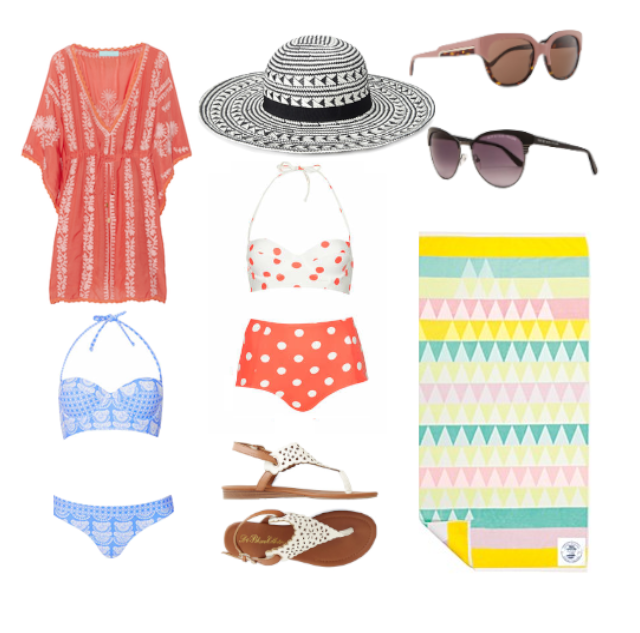 BEACH DAY CHIC - WHAT TO WEAR BIG