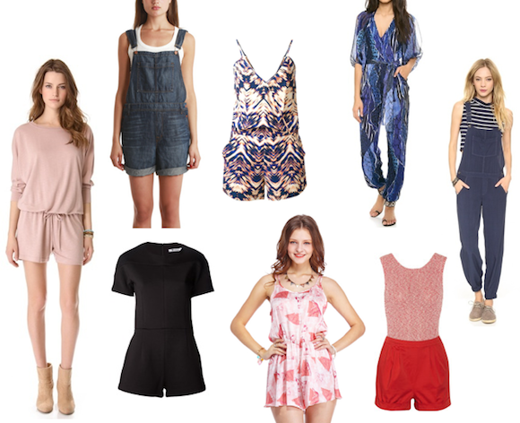 Rompers, jumpsuits, overalls