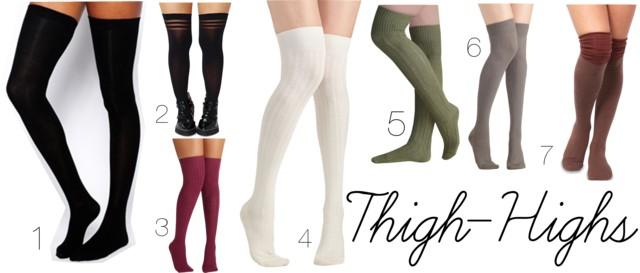 Fall Fashion - Legs For Days