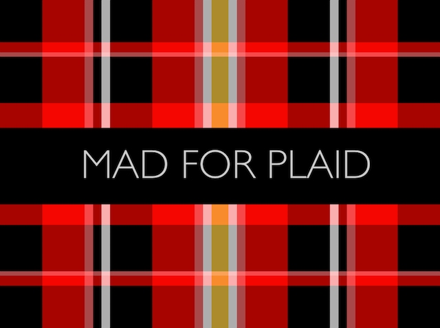 Fashion Jobs Design - Ways to Wear Plaid