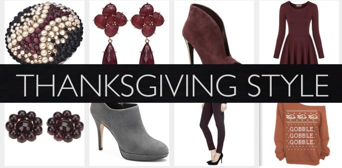 Fall Fashion - Thanksgiving Style