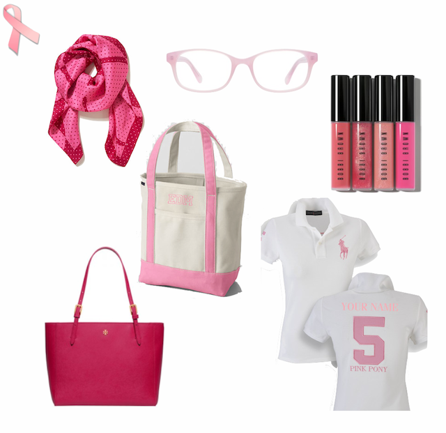 Think Pink Fashion for Breast Cancer Awareness Month