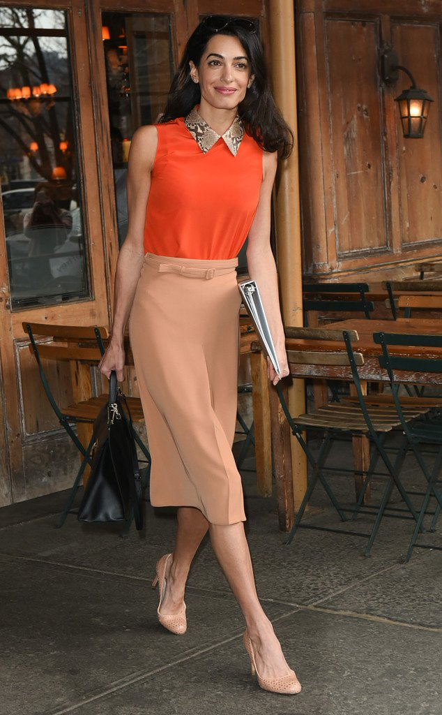 Fashion Jobs – Corporate Style Done the Amal Clooney Way