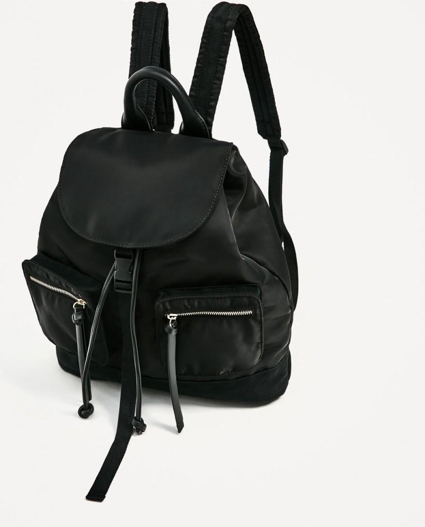 4. Zara Technical Backpack