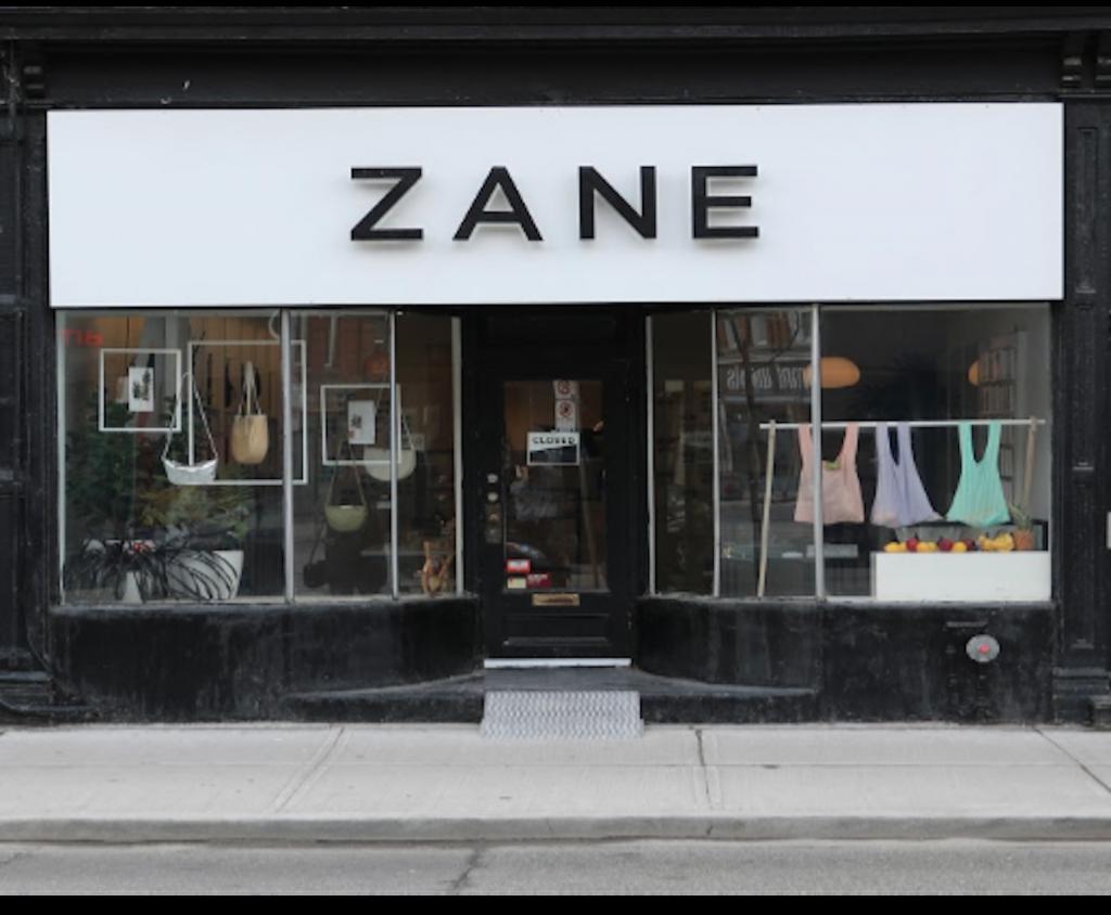 1. ZANE Store Front