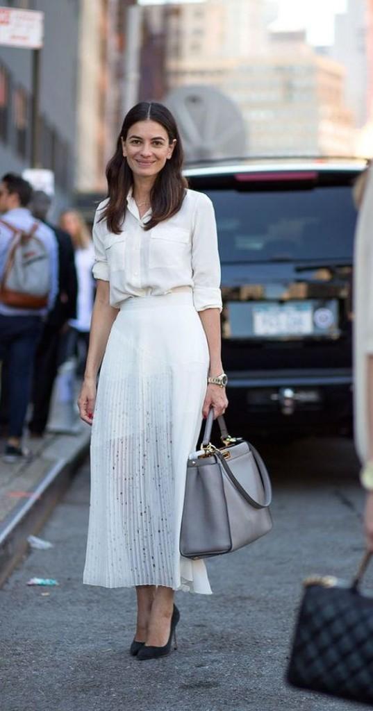 5.The Flirty, pleated Skirt