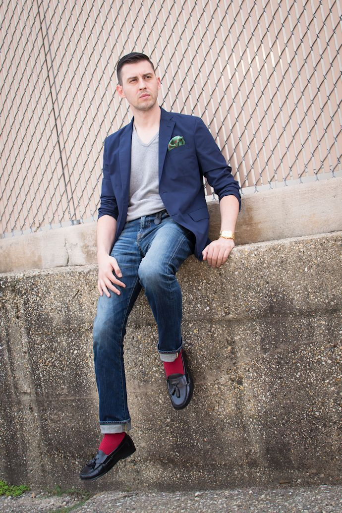 Fashion Jobs Men S Fashion Mastering The High Socks And Loafers Combo Fashion Jobs In Toronto Vancouver Montreal And Canada Style Nine To Five