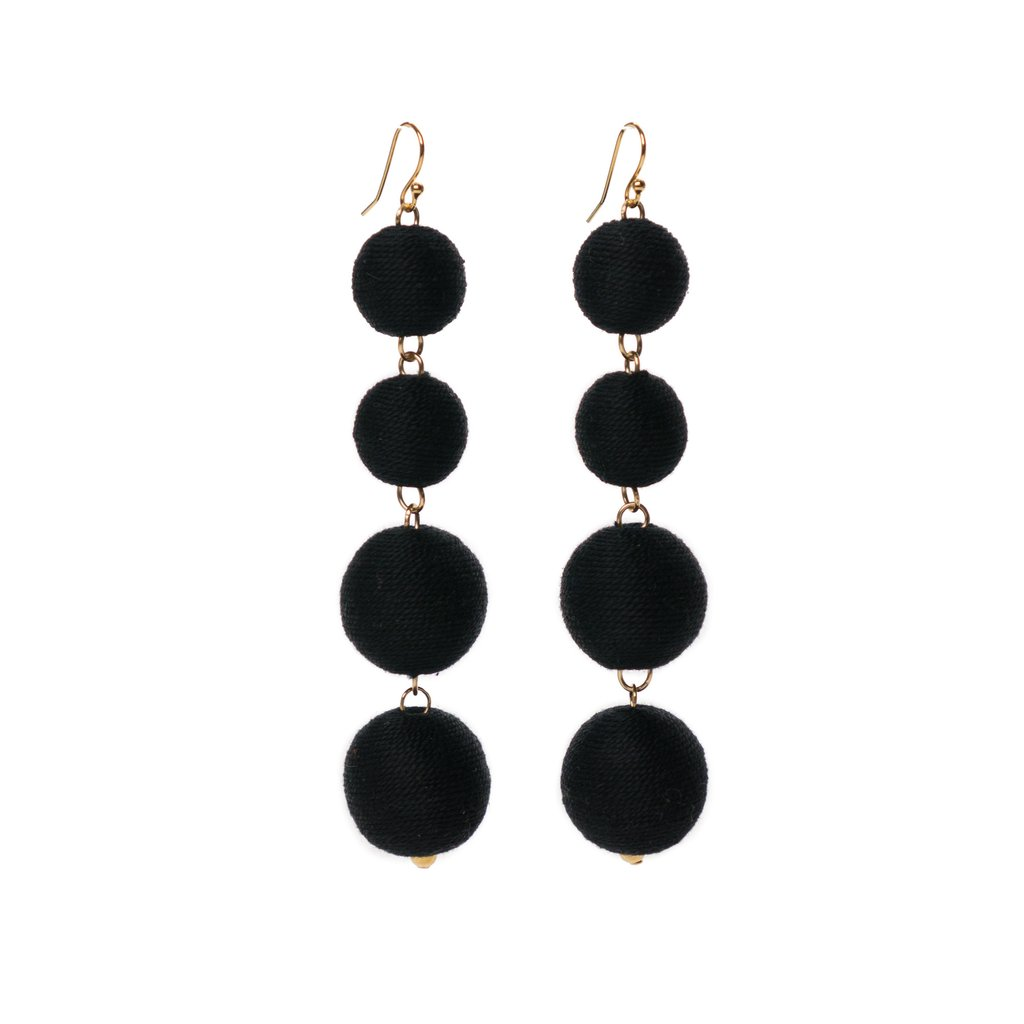 Loveliest Pom Bon Earrings