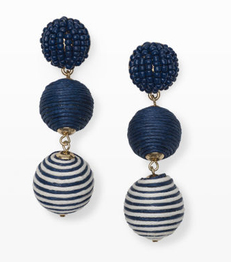 Club Monaco Pom Bon Earrings