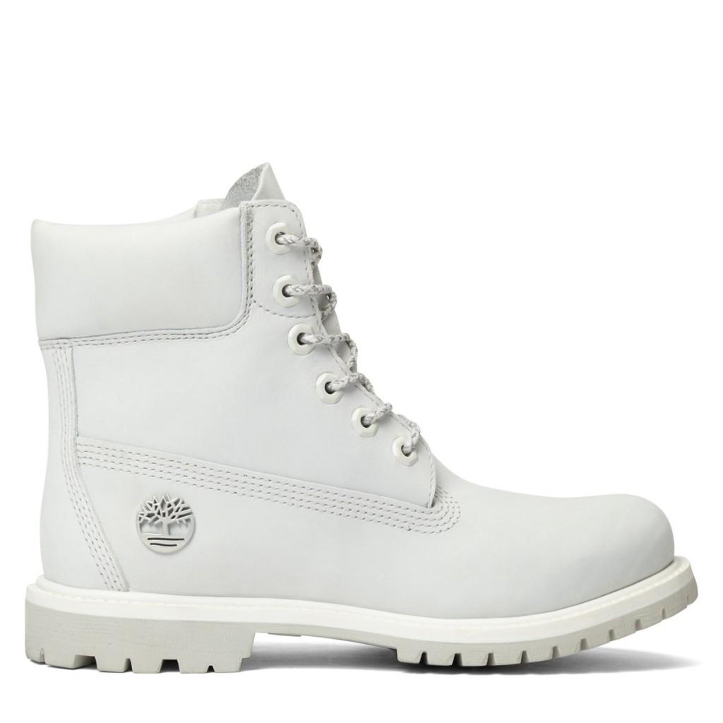 Timberland Womens 6 Inch Premium White Boot