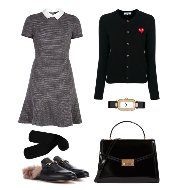 Dress in Fall Office