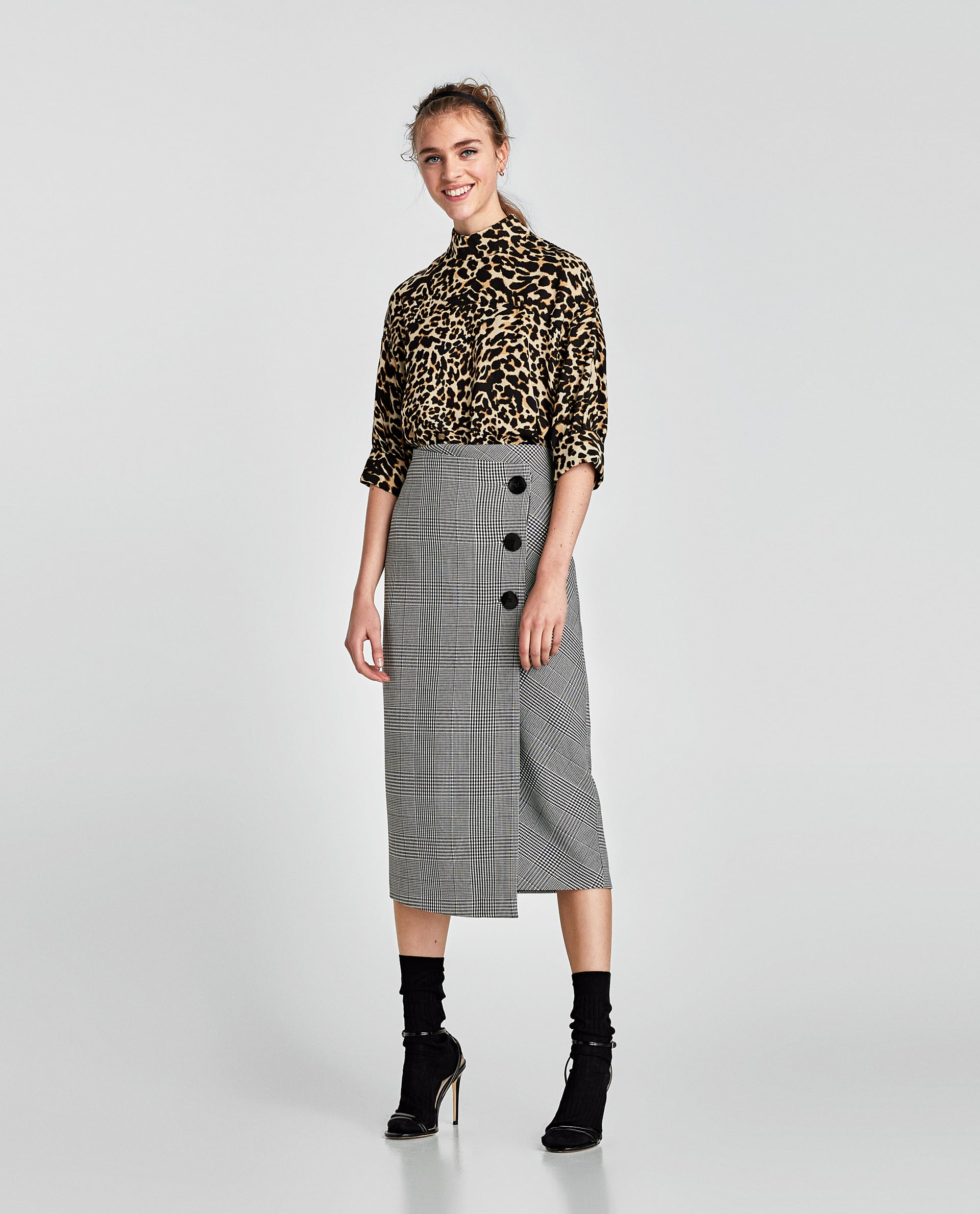 76a5682eead7 Leopard Print Tops One of the easiest statement pieces that can be worn for  dressy occasions. Make sure to tone down the outfit down with subtle  coloured ...