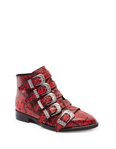 SNTF_Red Boots_Topshop Andi Ankle Boots