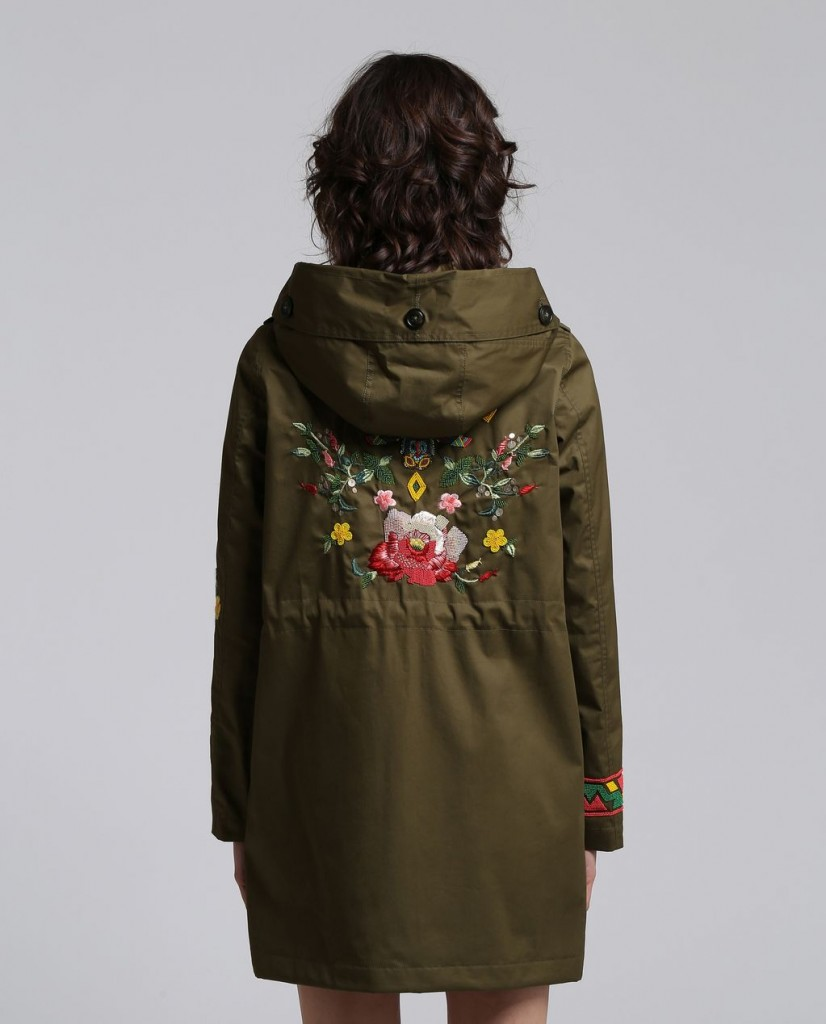 Style Nine To Five_Embroidered Spring Jackets_Woolrich Limited Edition Prescott Parka