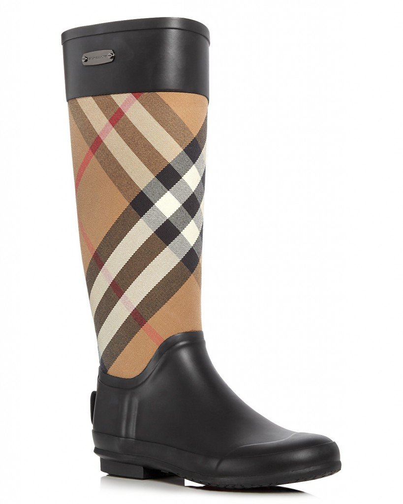 Style Nine To Five_Rain Boots For April Showers_Burberry Clemence