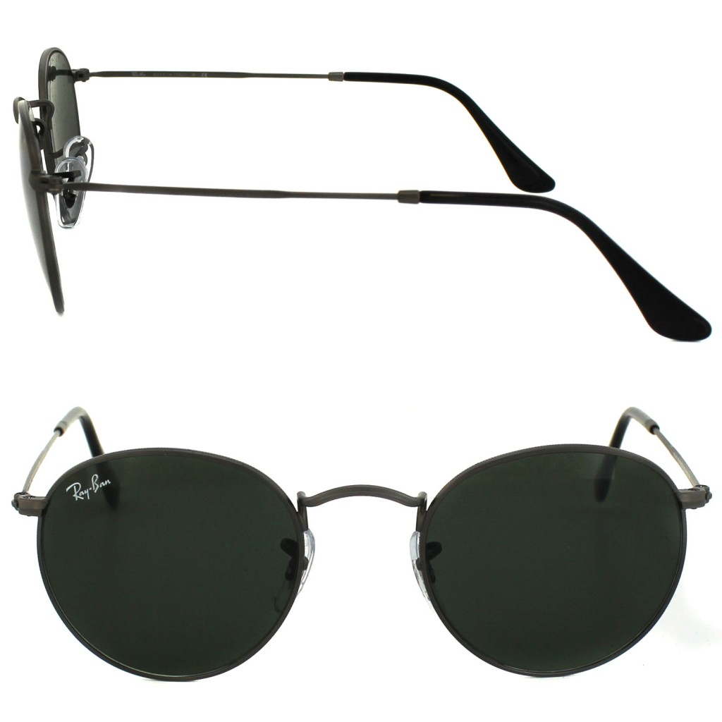 Style Nine To Five_Staple Pieces For Summer_Ray-Ban Round Metal 3447 All Black