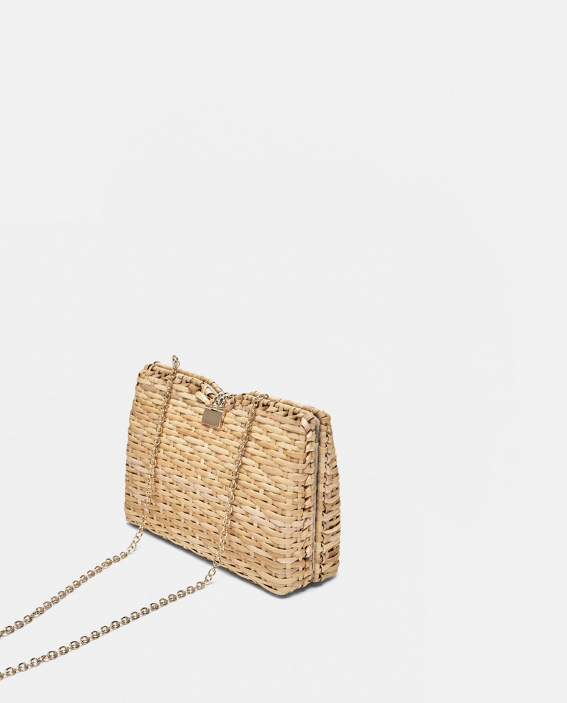 SNTF_Beach Inspired Bag_Zara Raffia Minaudiere Bag