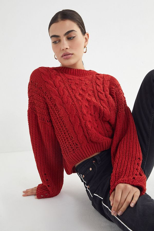 5417568d26e The cable knit sweater is a fall and winter staple