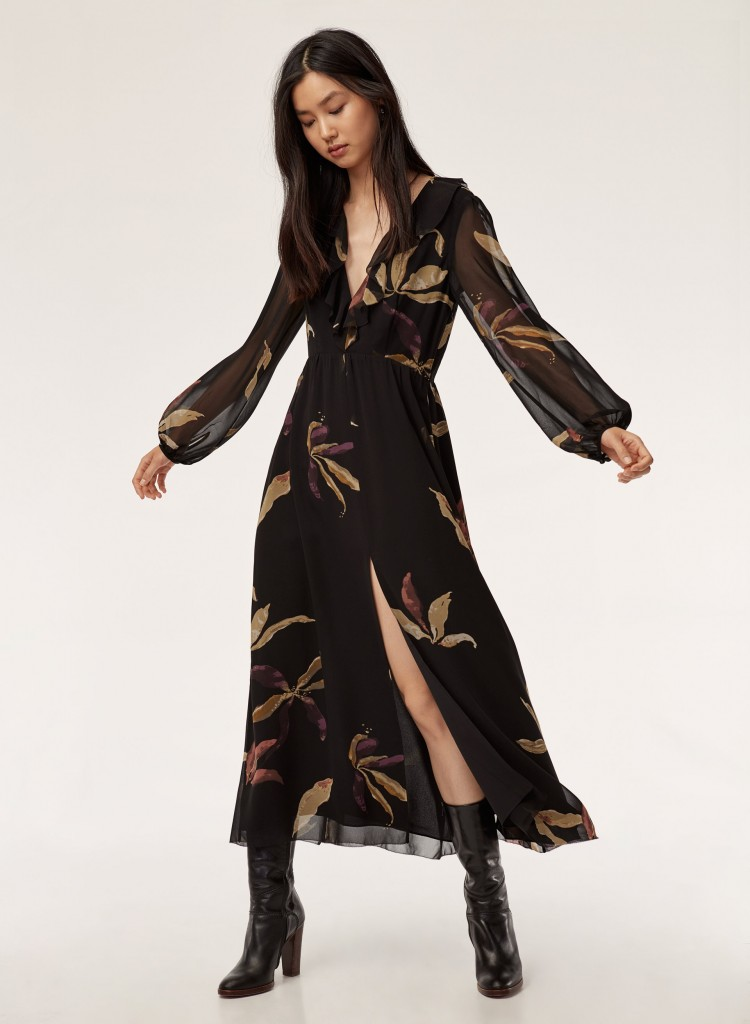 SNTF_Florals for Fall_Aritzia Wilfred Millie Dress
