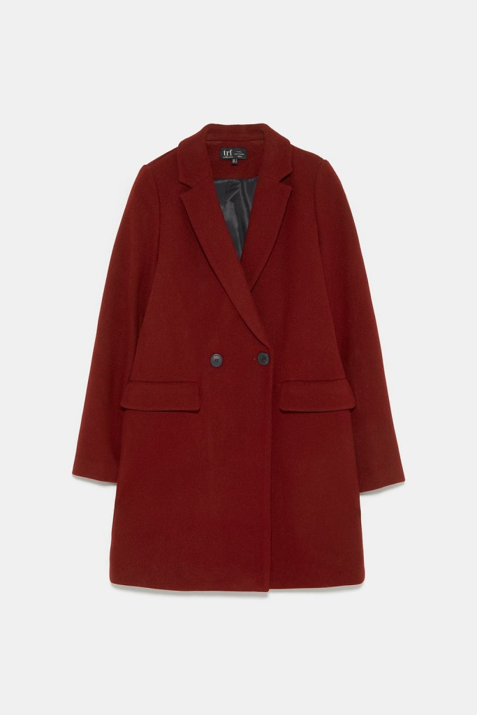 SNTF_Wool Coats That Won't Break The Bank_Zara Menswear Coat