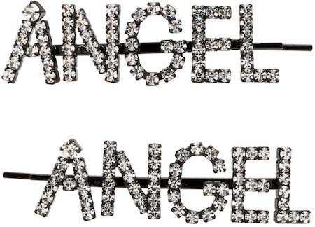 Ashley Williams Transparent 'Angel' Hair Clip Set
