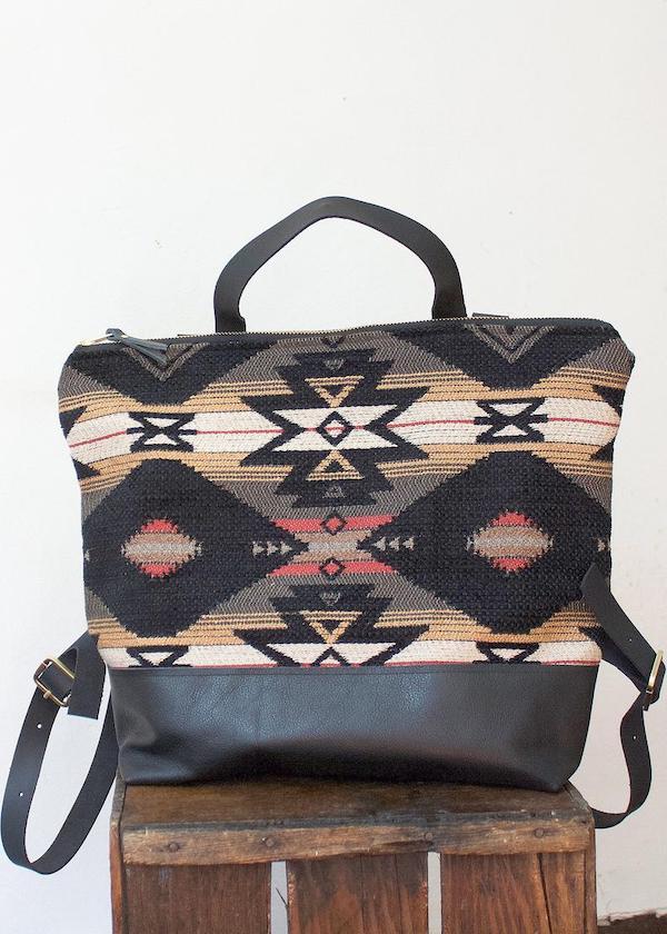Boho Backpack and Laptop Bag