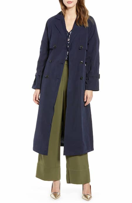 Valentine Long Trench Coat VERO MODA